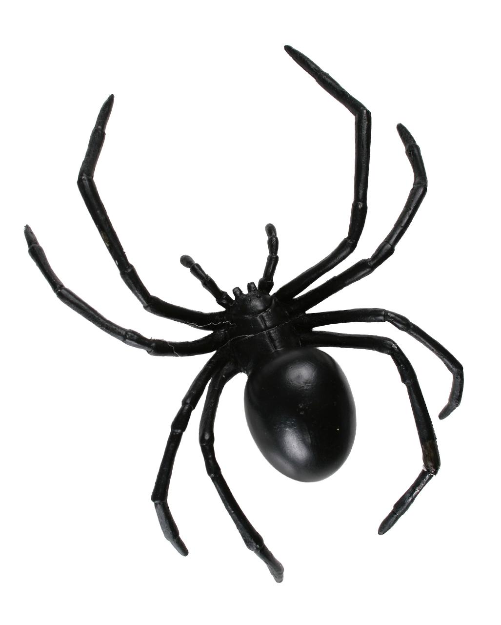 Halloween Plastic Black Spider Decoration Funny Joking Toys  Realistic Prop BS