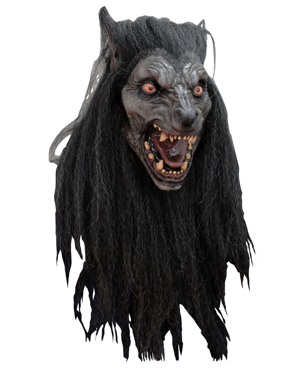 Halloween Maske Werwolf Horrormaske Fasching Horror Maske Karnevalsmaske