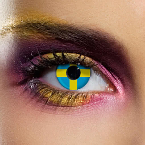 Декоративные линзы для глаз цветные
