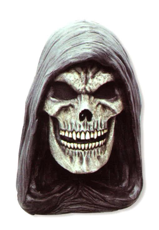Gevatter Tod Maske Latex Halloween Horror Skelett