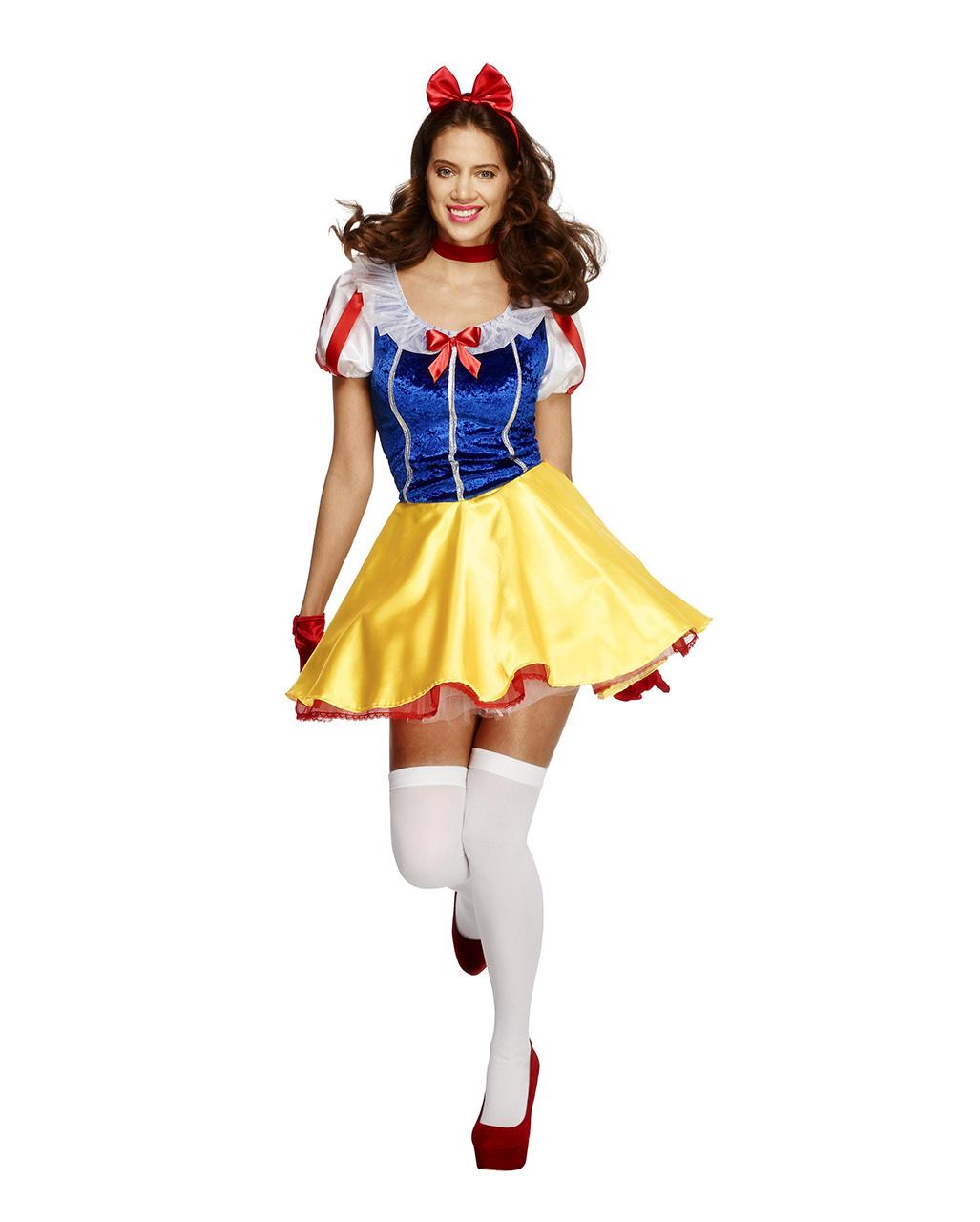 Girls Snow Beauty Fairy Tale Fancy Dress Teenage Size Costume