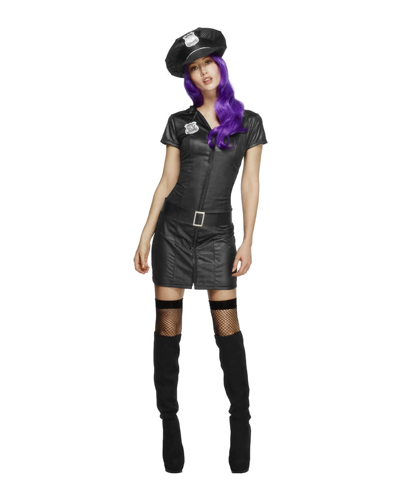sexy cop kost m polizistin kost m damen uniform horror. Black Bedroom Furniture Sets. Home Design Ideas