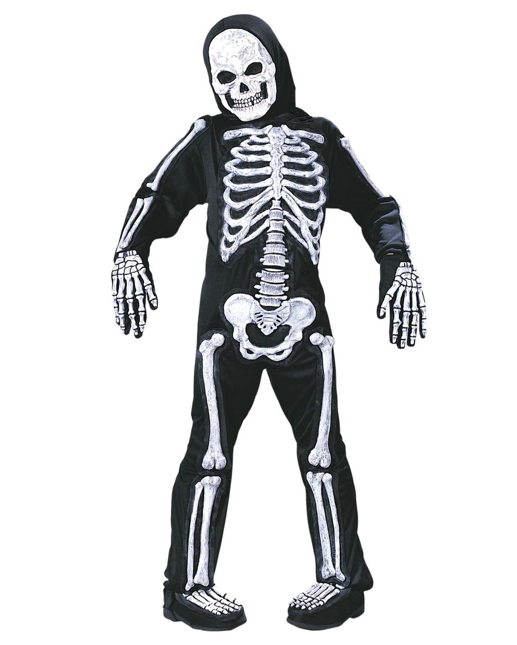 skelett 3d kinderkost m skelettkost m f r kinder horror. Black Bedroom Furniture Sets. Home Design Ideas