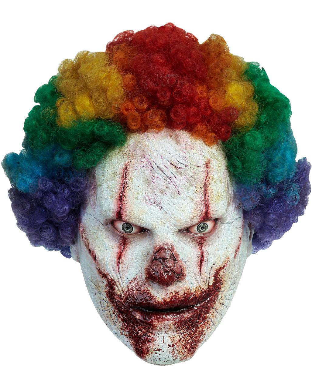wie kommt man Kunden zuerst suche nach original Slaughterhouse Clown Maske