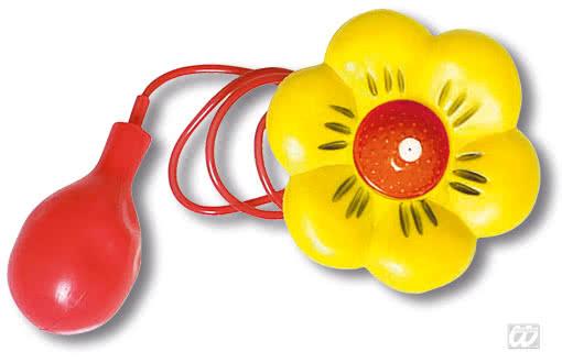 spray flower yellow clowns item water pistol flower. Black Bedroom Furniture Sets. Home Design Ideas