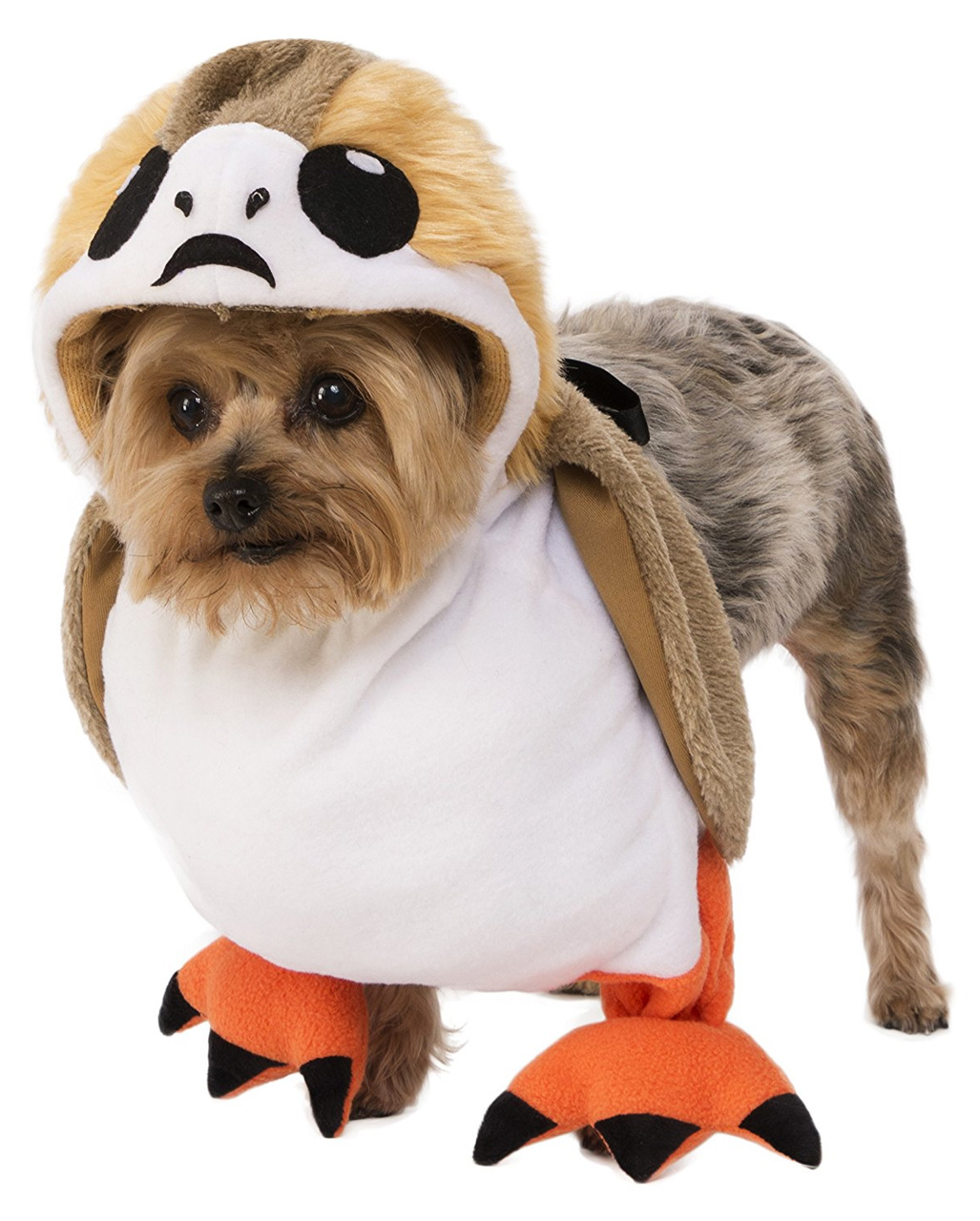 star wars porg dog costume to order horror. Black Bedroom Furniture Sets. Home Design Ideas