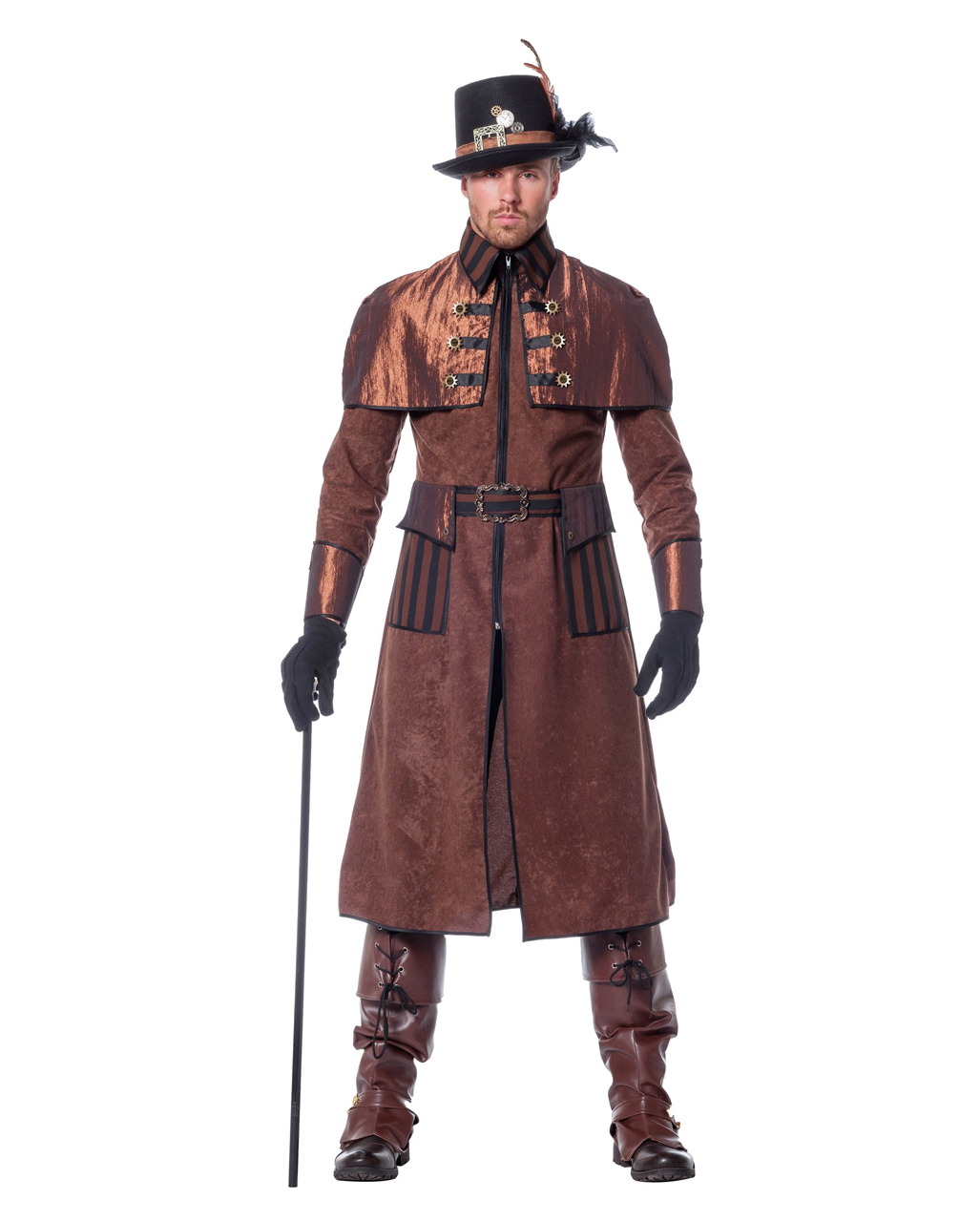 Steampunk Men Costume Deluxe | Victorian | horror-shop.com