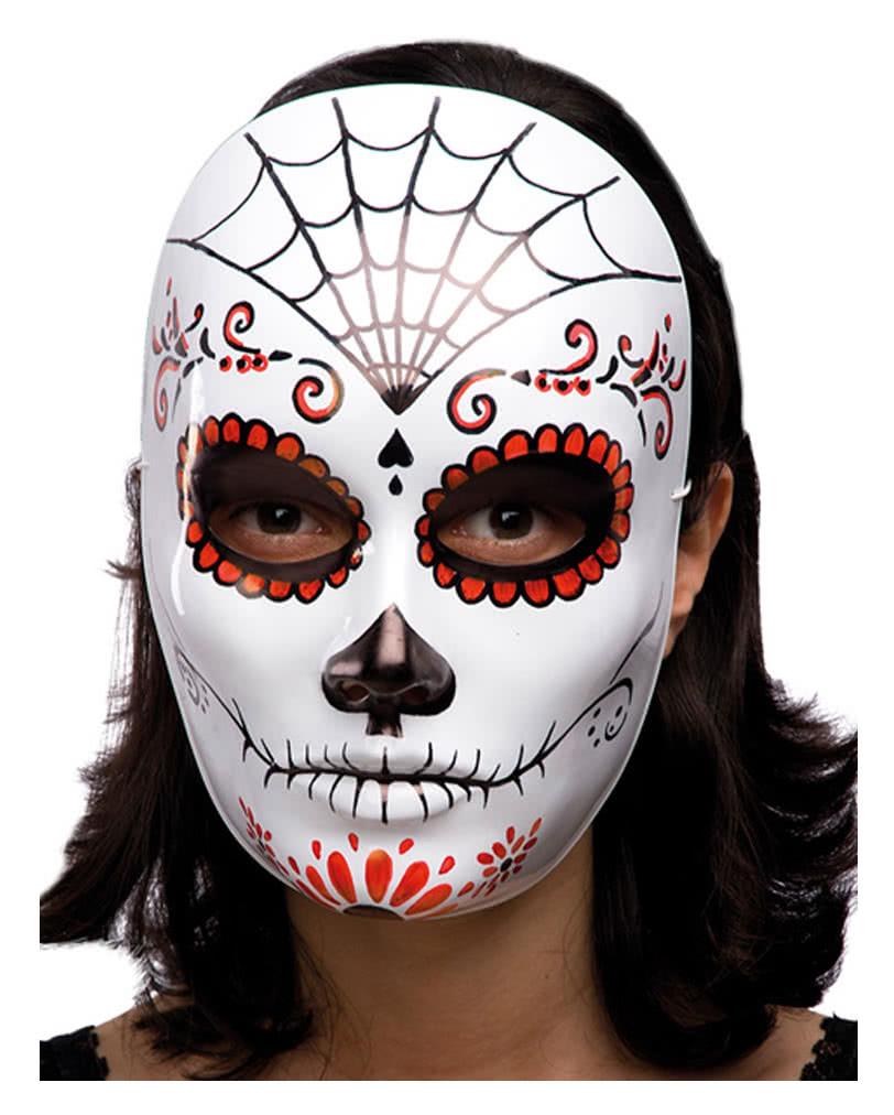 sugar skull halloween maske dia de los muertos maske horror. Black Bedroom Furniture Sets. Home Design Ideas