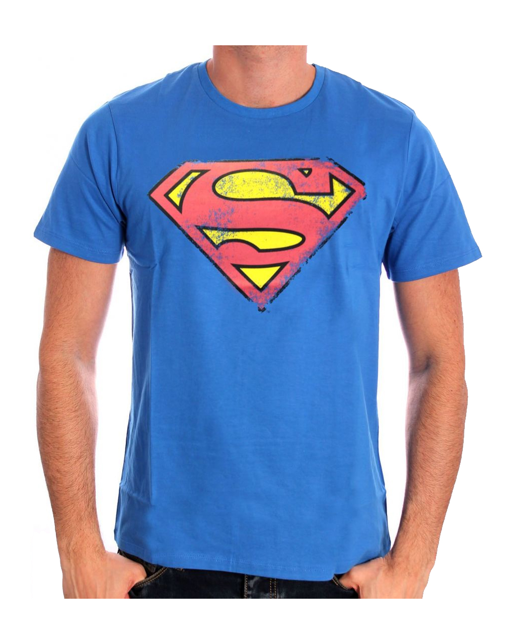 superman retro logo t shirt s superhelden t shirt kaufen horror. Black Bedroom Furniture Sets. Home Design Ideas
