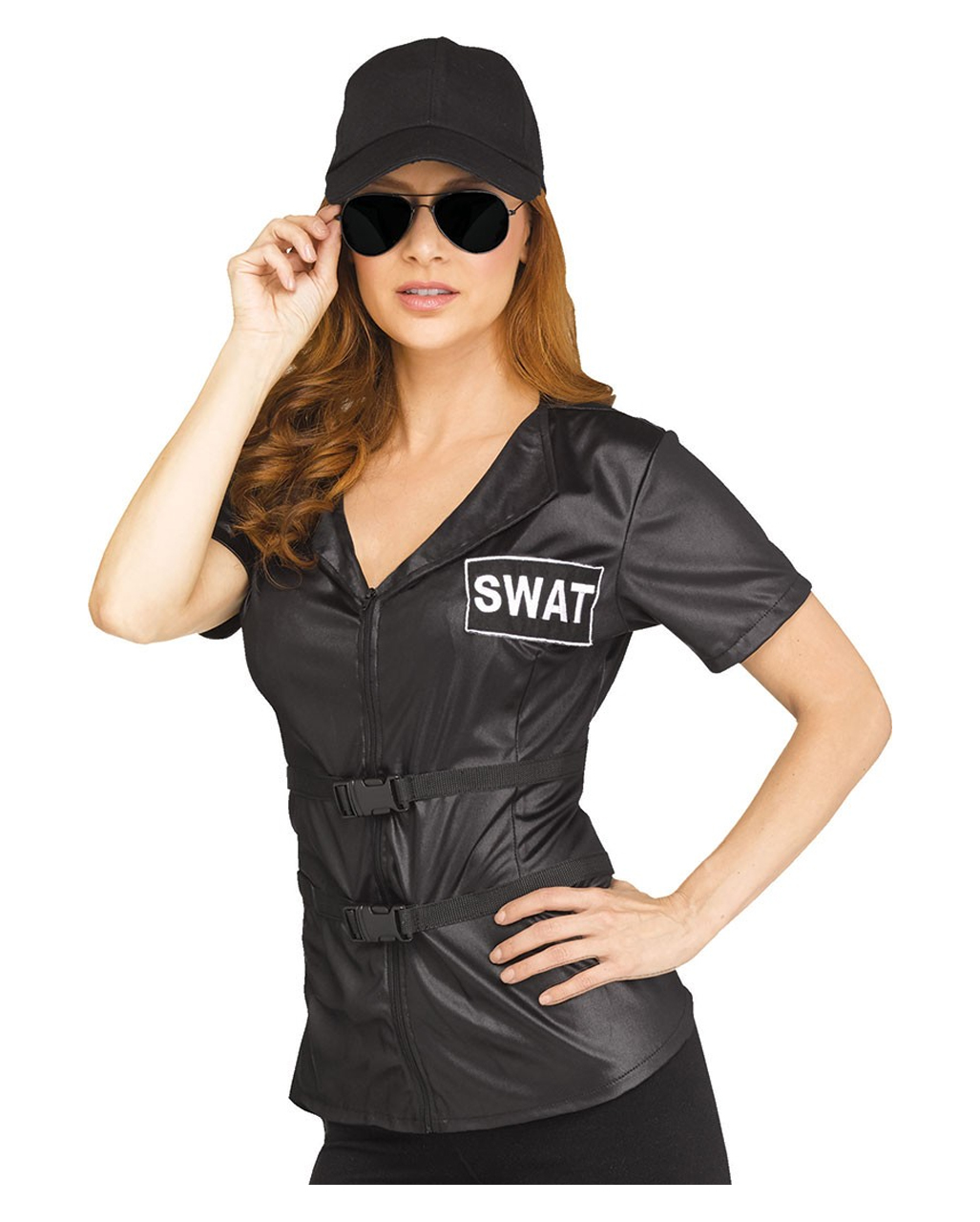 176be5f0965 SWAT costume shirt for ladies