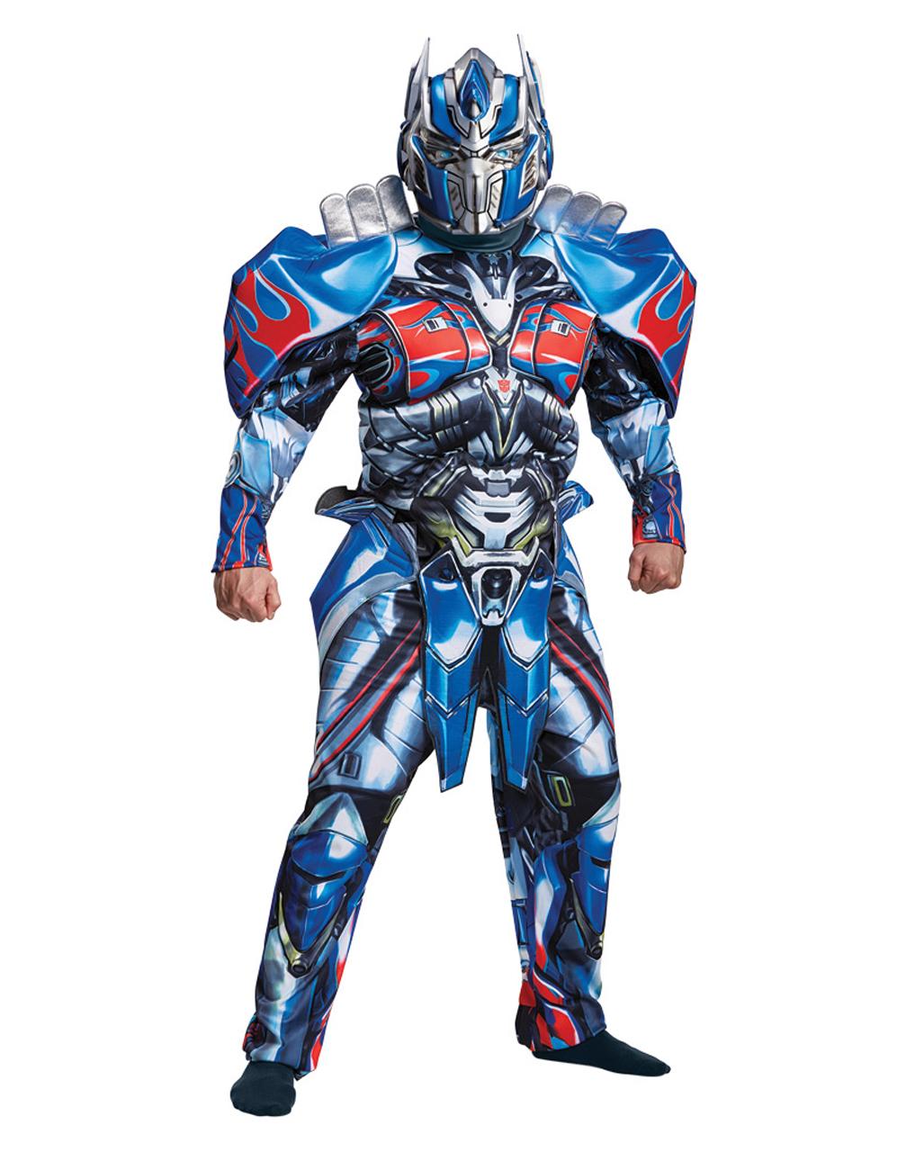 Transformers Optimus Prime Muskelkostüm Deluxe