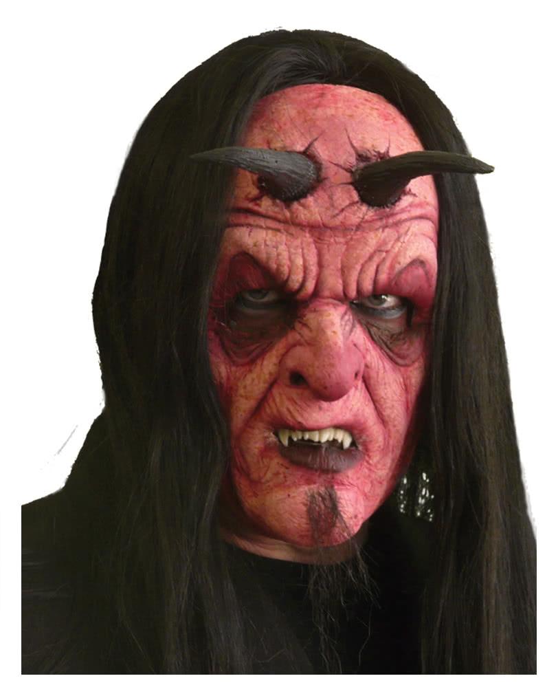 unholy evil schaumlatex maske spezial make up teufels. Black Bedroom Furniture Sets. Home Design Ideas