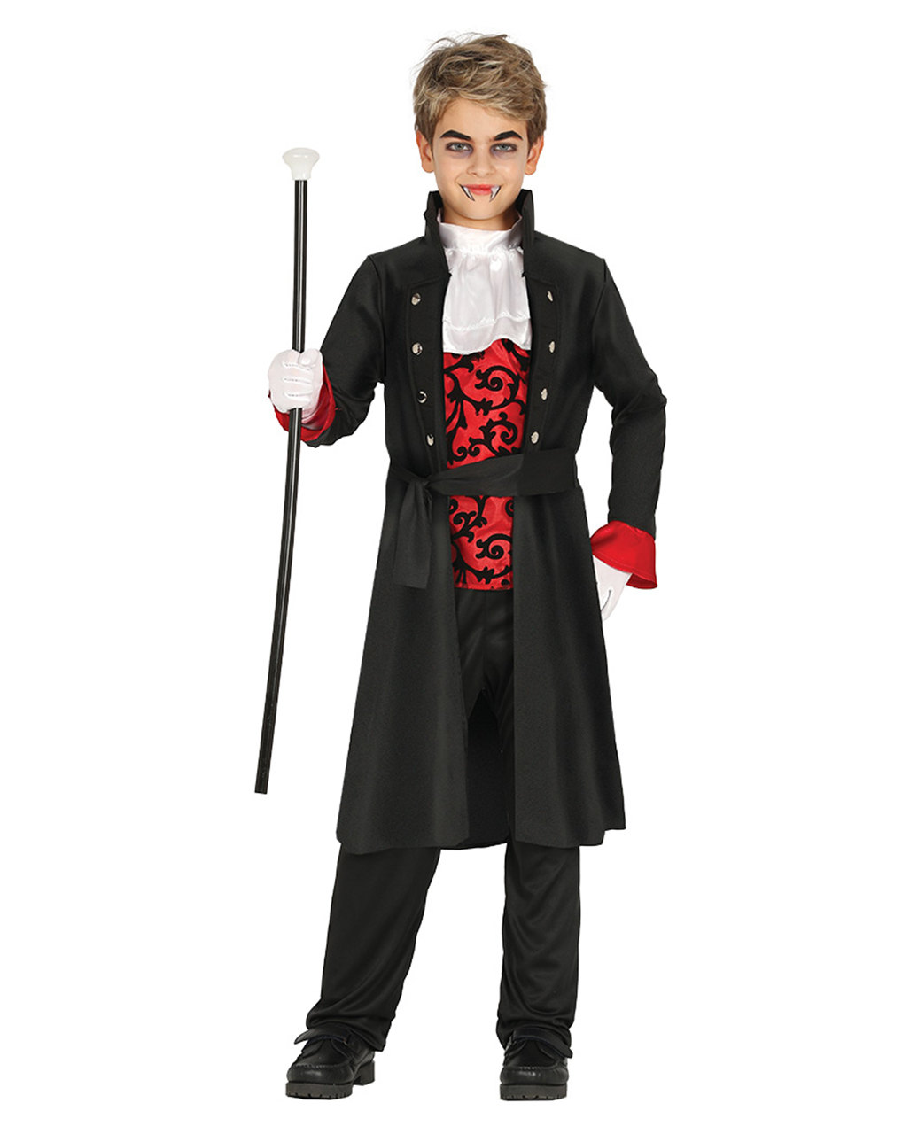 Count Dracula Costume Boys Halloween Vampire Horror Kids Childrens Fancy Dress