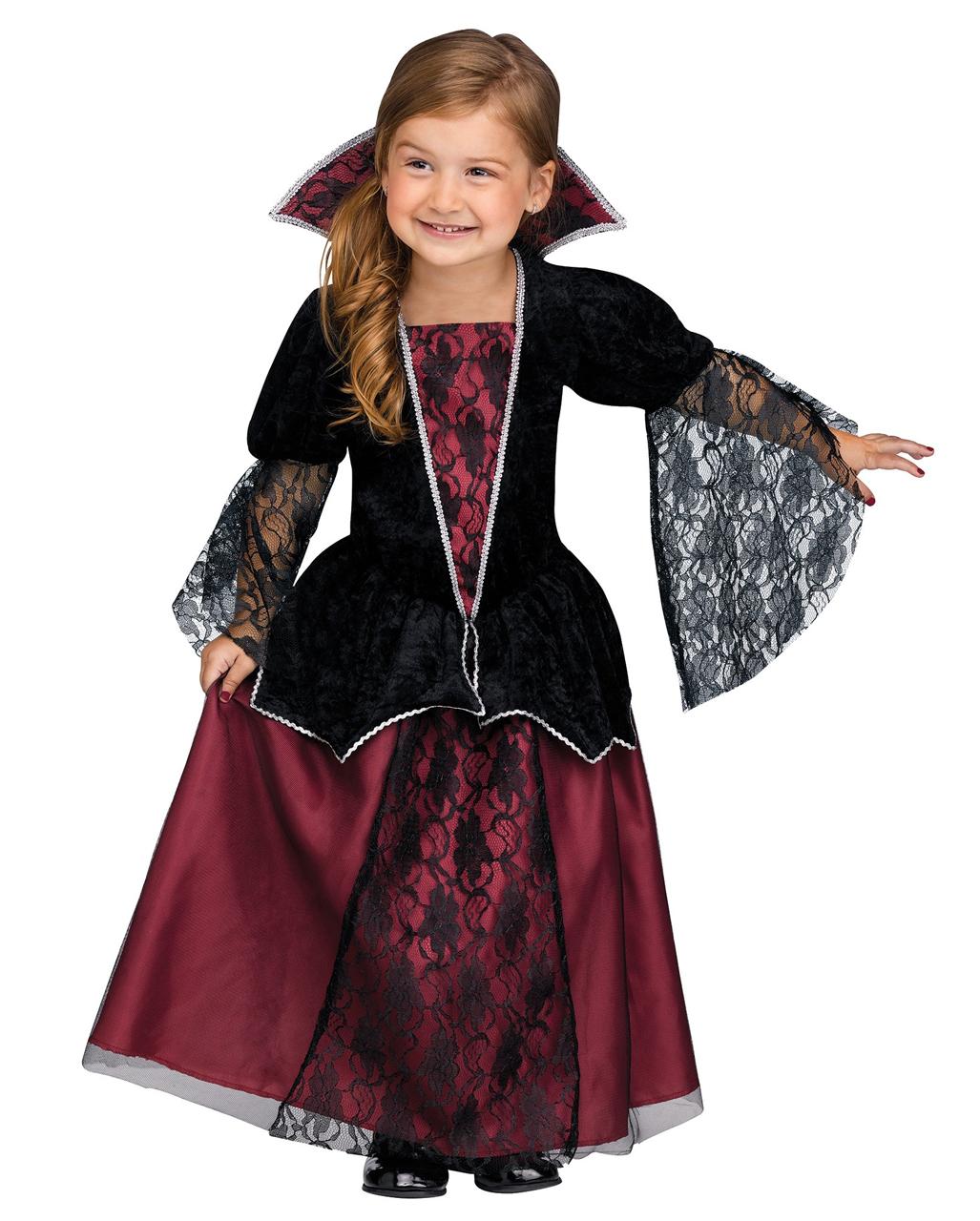 vampire princess toddler costume for carnival horror