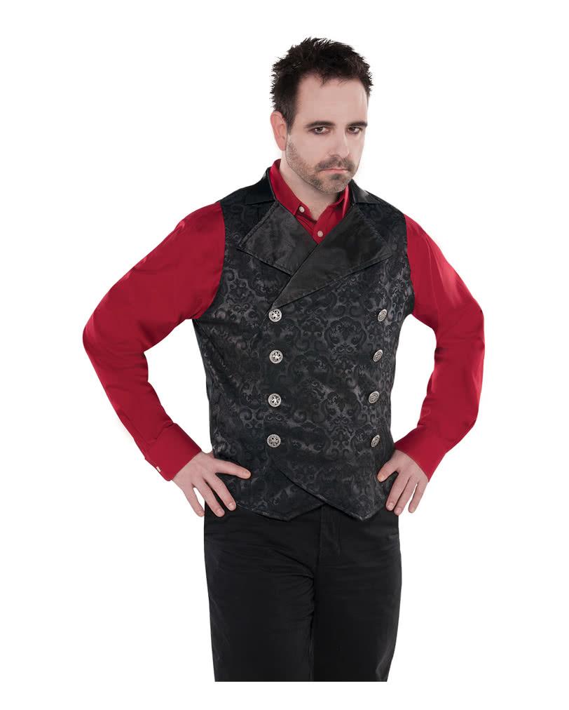 vampir weste f r herren f r dein vampirkost m an halloween. Black Bedroom Furniture Sets. Home Design Ideas
