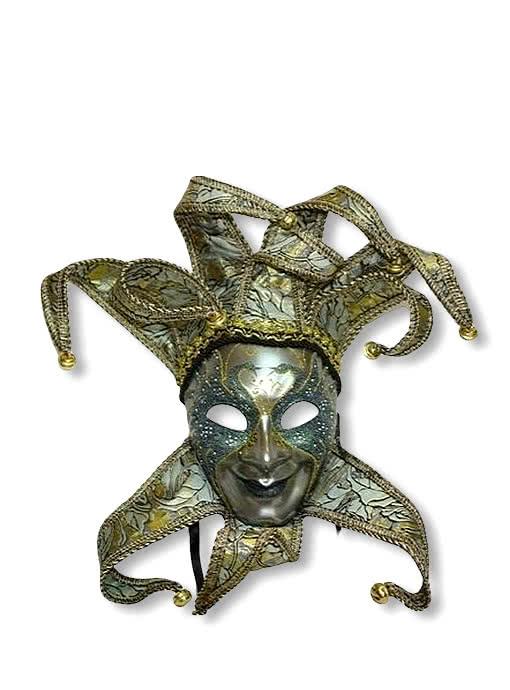 venezianische maske hofnarr damen edle jester maske f r damen horror. Black Bedroom Furniture Sets. Home Design Ideas