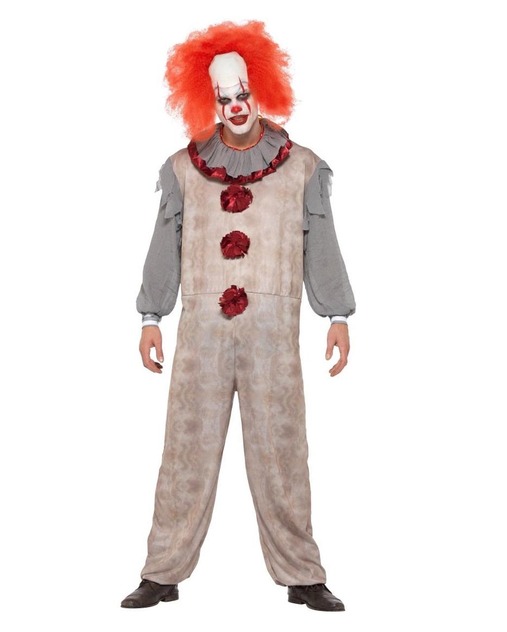 Vintage Horror Clown Kostüm
