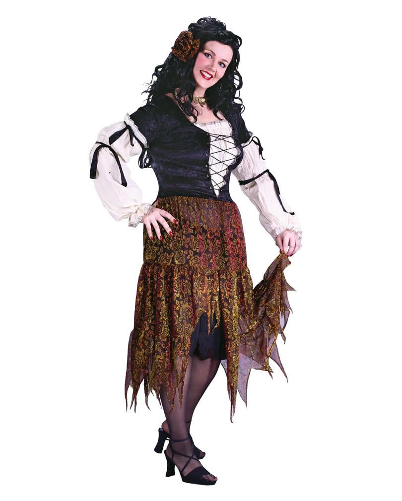 fortune teller costume xl zigeunerin costume gypsy. Black Bedroom Furniture Sets. Home Design Ideas