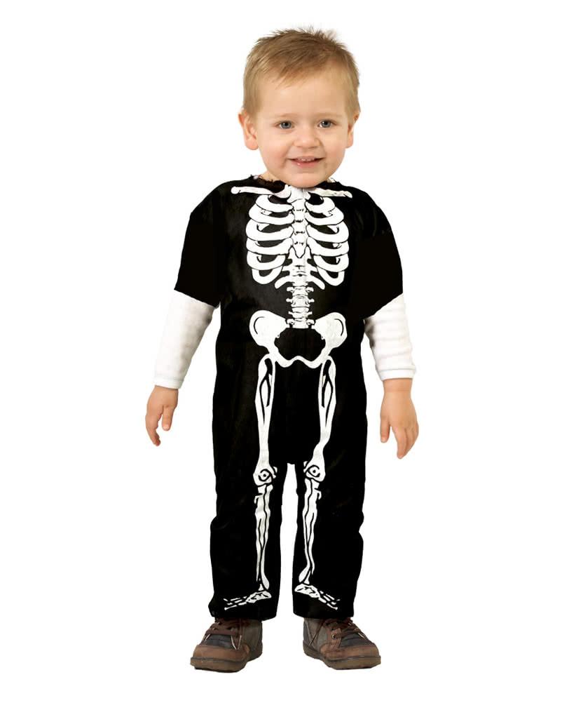 skelett babykost m f r juniors erstes halloween horror. Black Bedroom Furniture Sets. Home Design Ideas