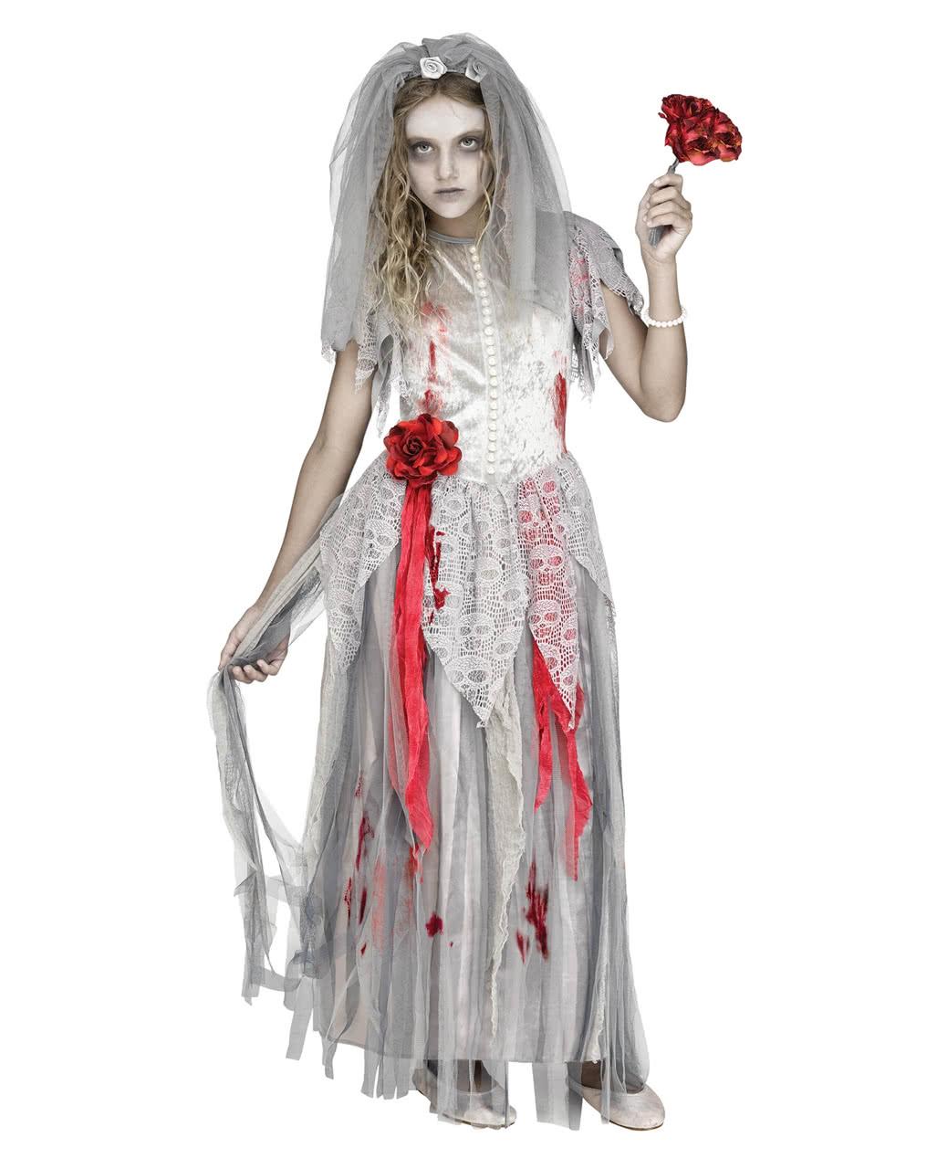 zombie bride children costume halloween costume horror. Black Bedroom Furniture Sets. Home Design Ideas