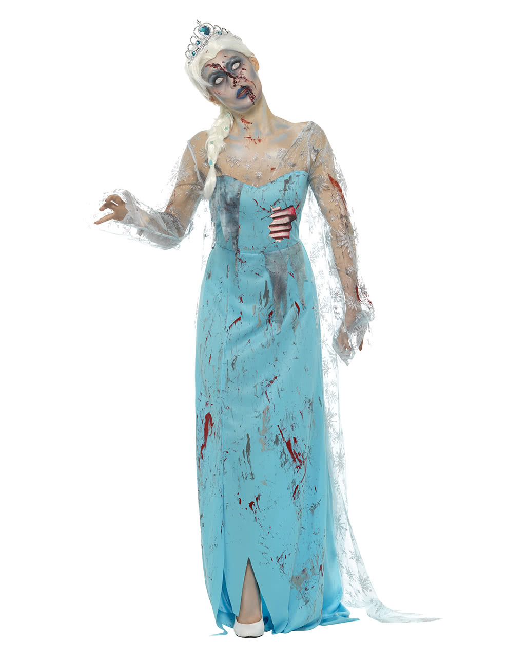 zombie ice queen costume horrormal paneling horror. Black Bedroom Furniture Sets. Home Design Ideas