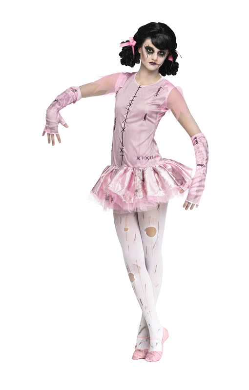 zombie ballerina costume zombie ballet costume horror. Black Bedroom Furniture Sets. Home Design Ideas