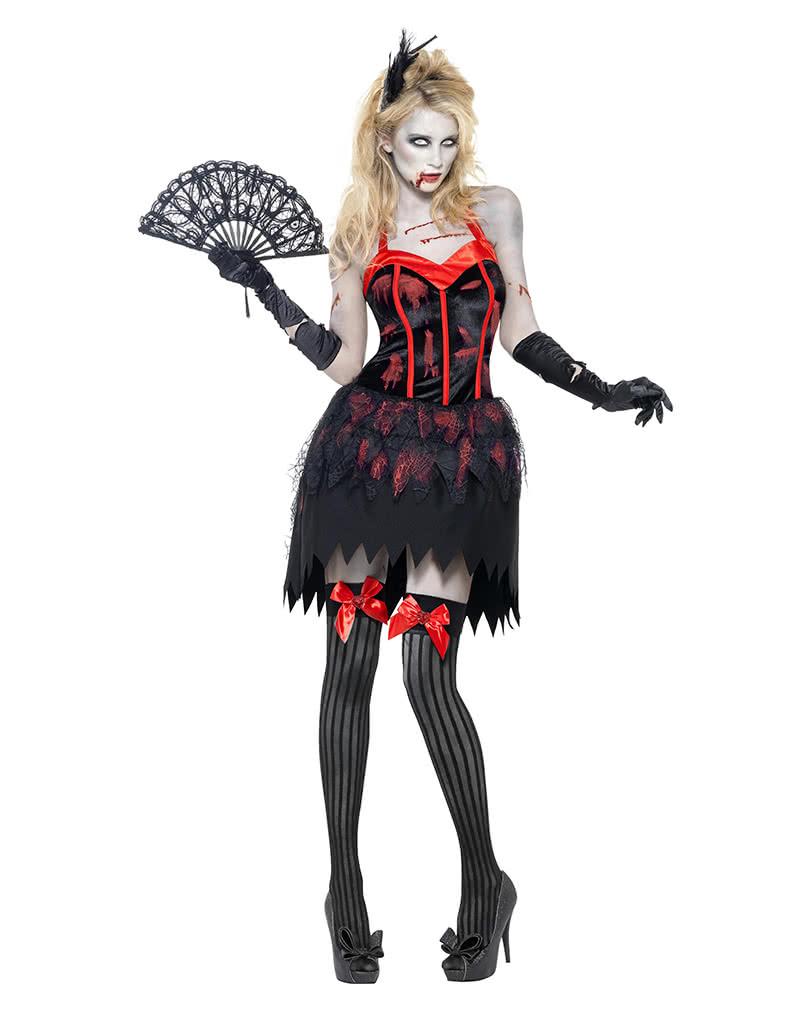 zombie burlesque kost m sexy damen zombie kost m horror. Black Bedroom Furniture Sets. Home Design Ideas