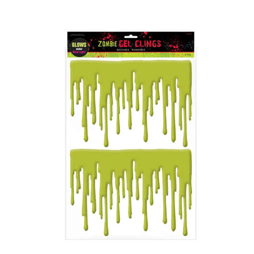 Zombie Fensterblut / Drips of Zombie-Blood
