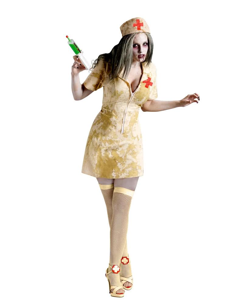 zombie krankenschwester sm als kost m f r halloween. Black Bedroom Furniture Sets. Home Design Ideas