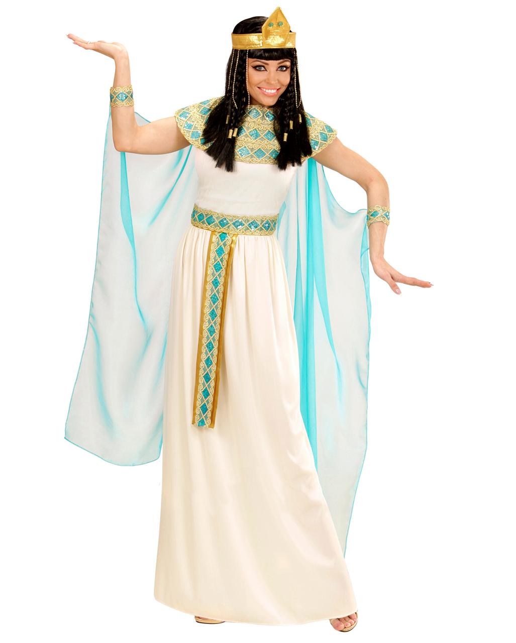 4 Tlg Cleopatra Kostum Deluxe Fur Karneval Horror Shop Com