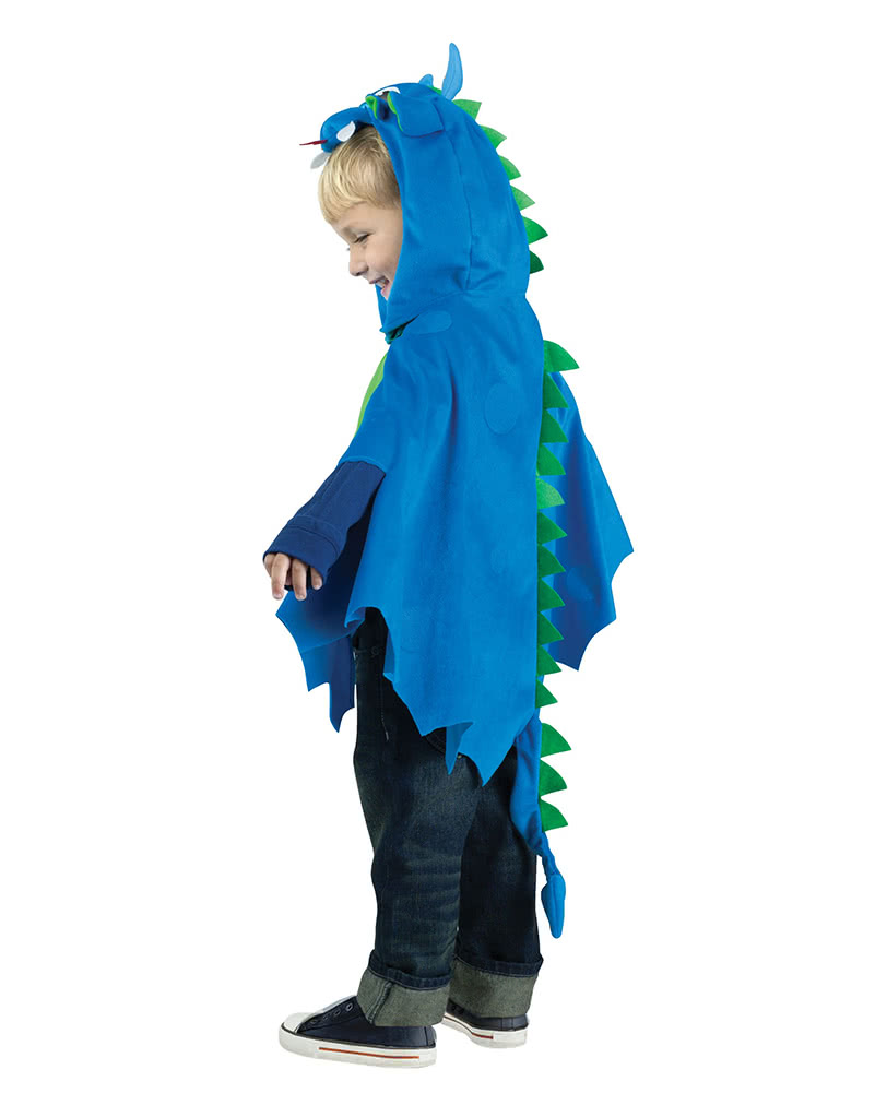 how to make a dragon costume for kids