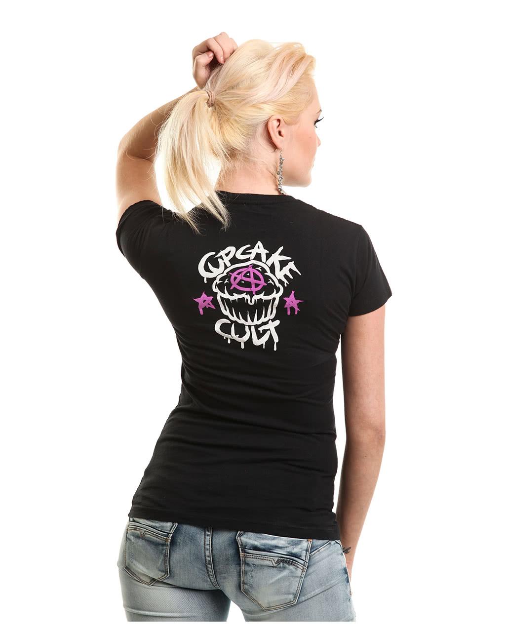 cupcake cult unicorn shirt emo fashion horror. Black Bedroom Furniture Sets. Home Design Ideas