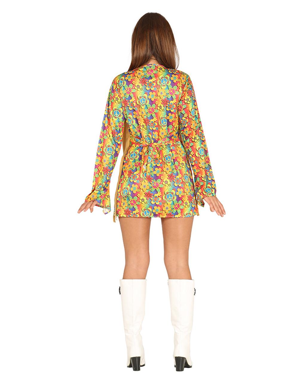 flower power hippie dress allegra costume party horror. Black Bedroom Furniture Sets. Home Design Ideas