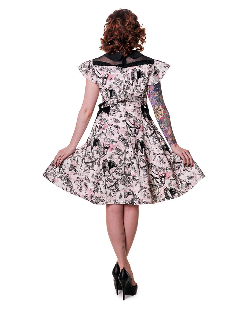 petticoat kleid mit schmetterling print rockabilly kleid. Black Bedroom Furniture Sets. Home Design Ideas