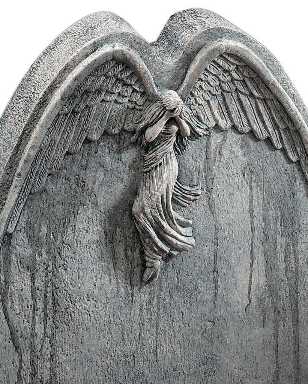 falling angel gravestone halloween tombstone horror. Black Bedroom Furniture Sets. Home Design Ideas