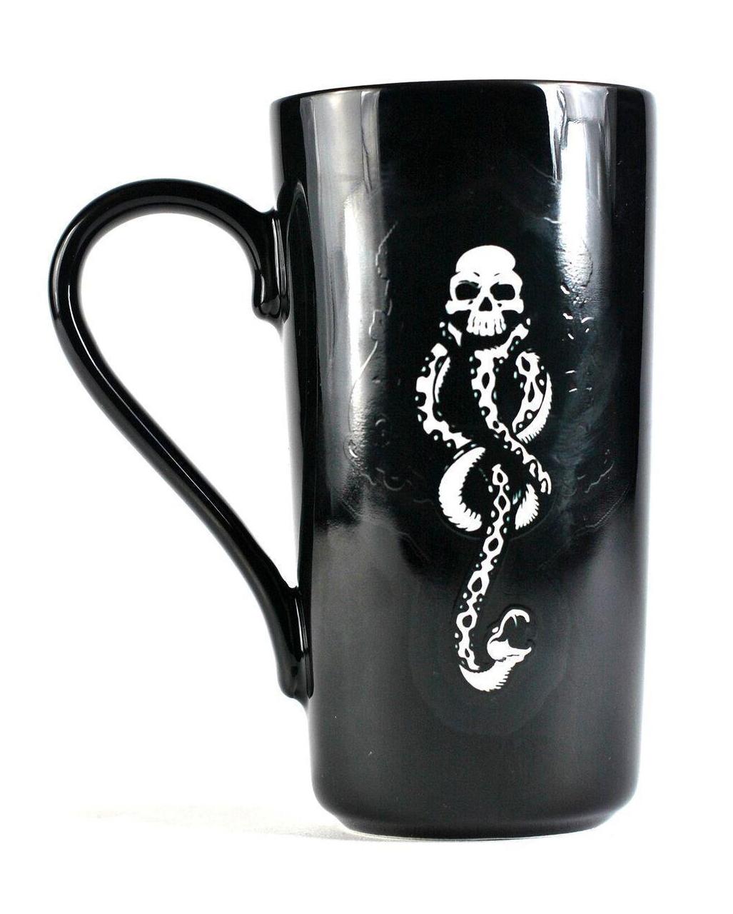 harry potter glam mug voldemort as a present horror. Black Bedroom Furniture Sets. Home Design Ideas