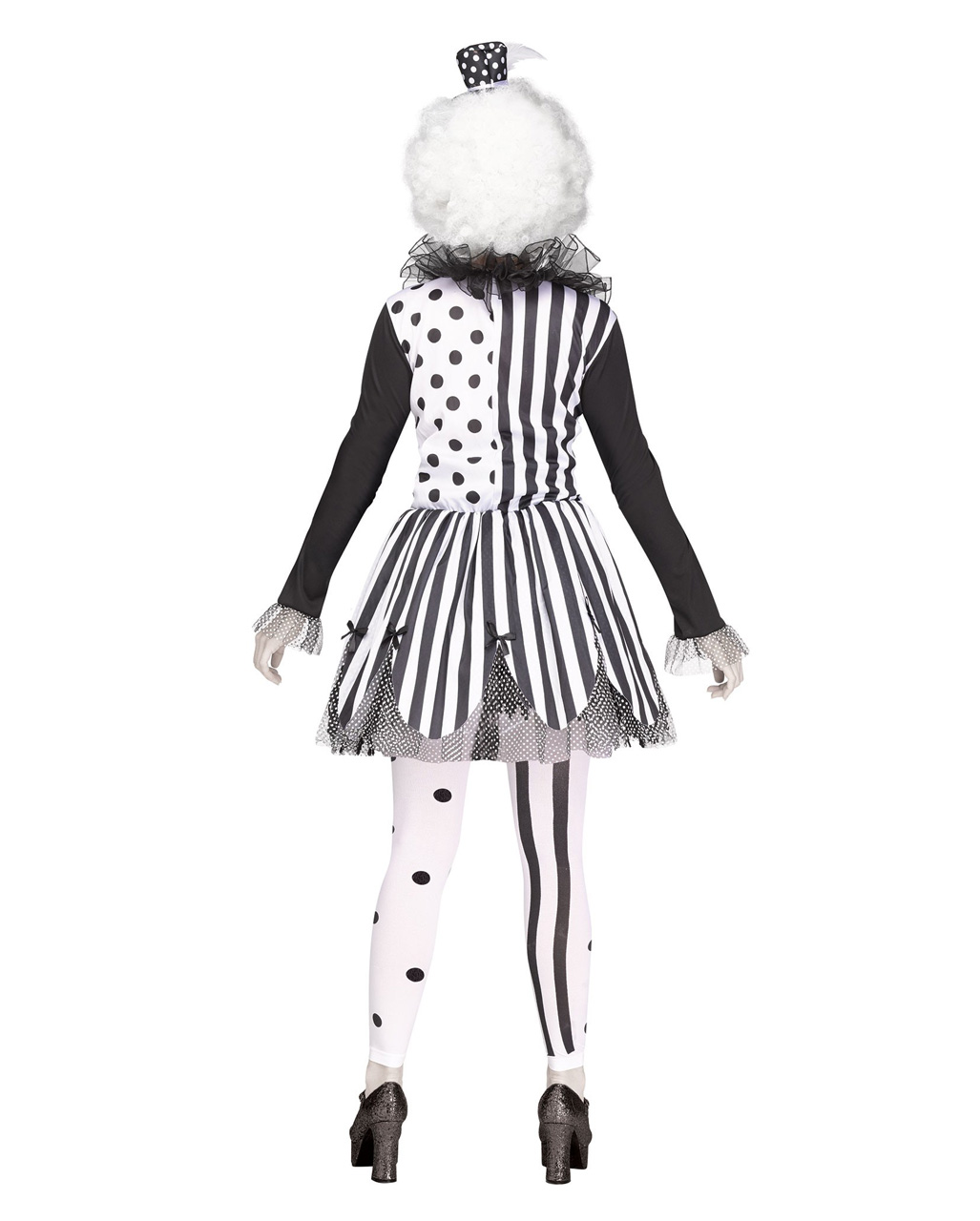 horror clown damenkost m f r halloween horror. Black Bedroom Furniture Sets. Home Design Ideas