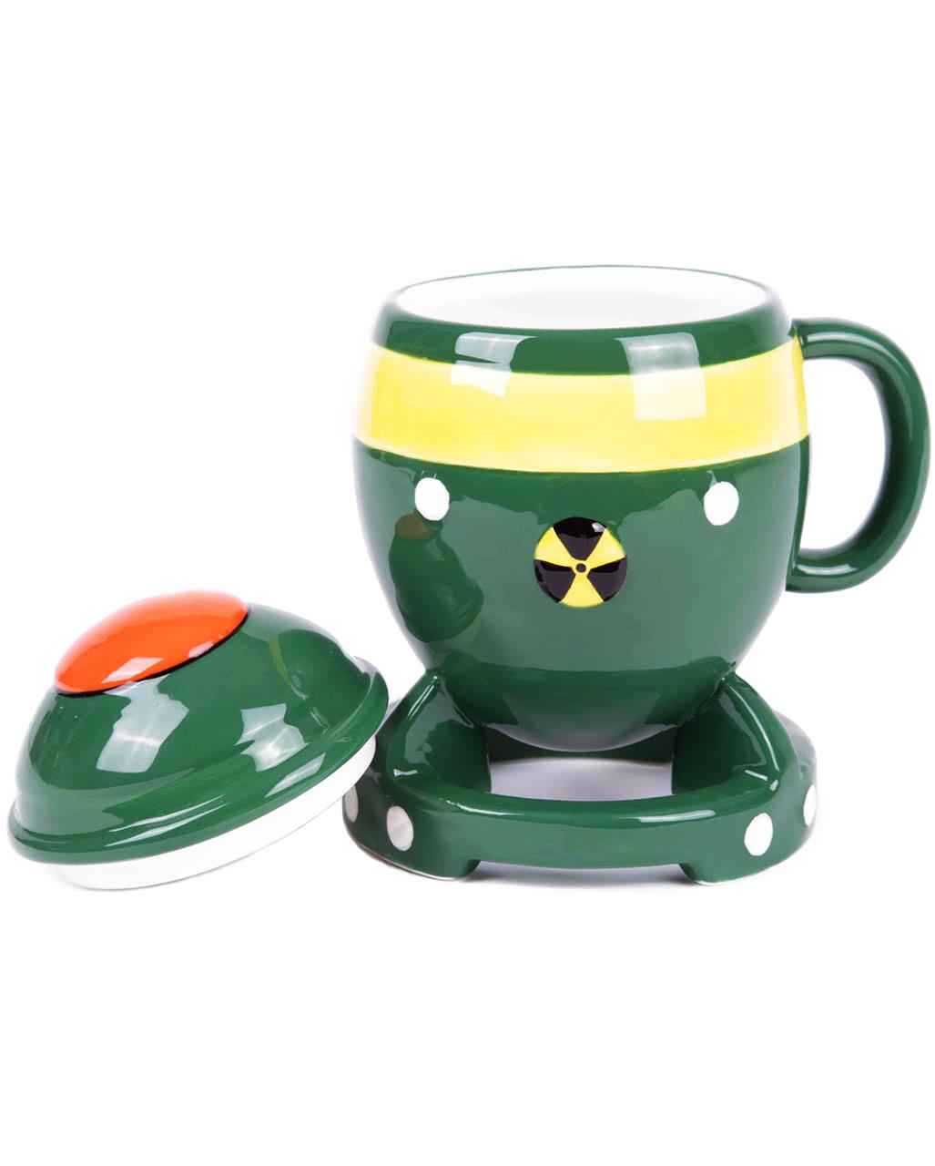 Kaffeetasse atombombe als geschenkartikel horror for Geschenkartikel shop