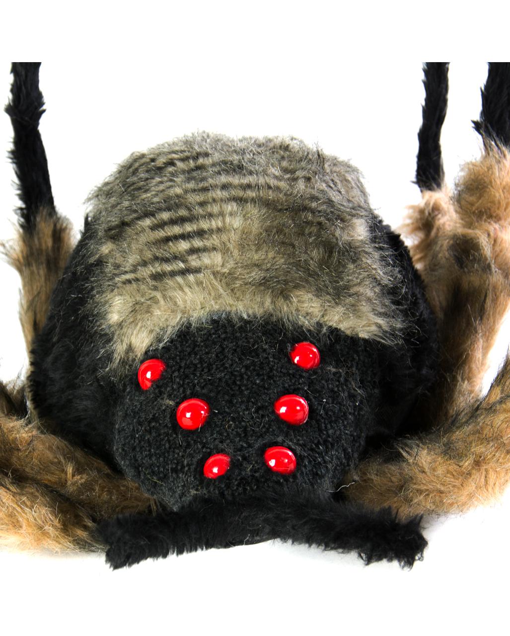 riesen spinne mit leuchtenden augen als halloween deko horror. Black Bedroom Furniture Sets. Home Design Ideas