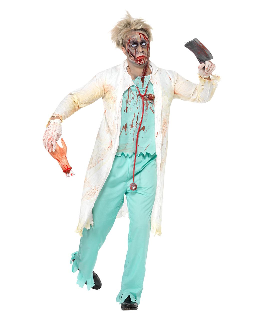 zombie chirurg kost m blutiges zombie kost m horror. Black Bedroom Furniture Sets. Home Design Ideas