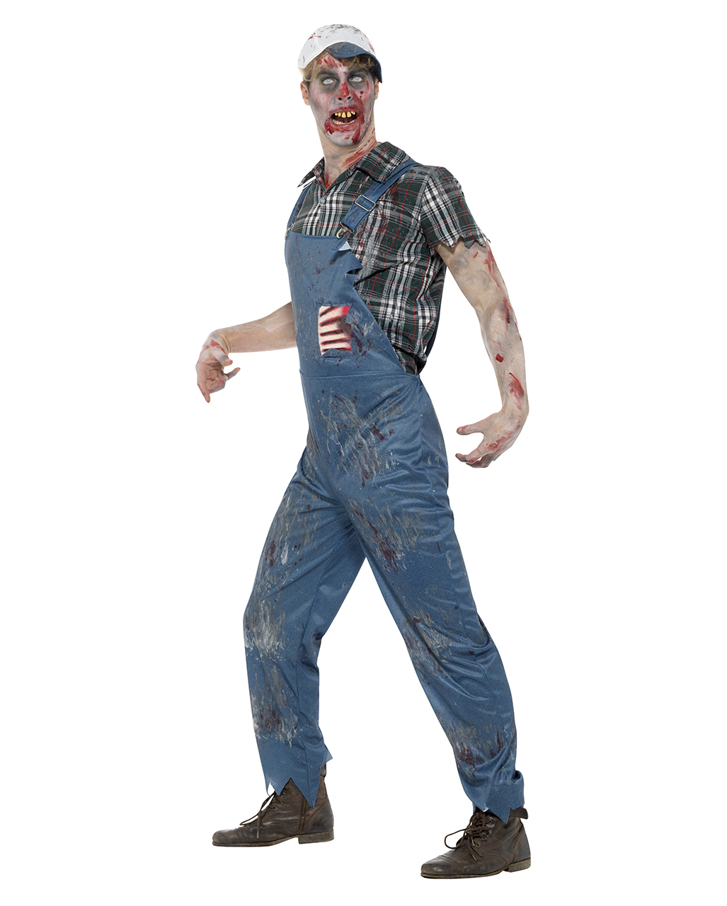 zombie farmer kost m f r halloween horror. Black Bedroom Furniture Sets. Home Design Ideas