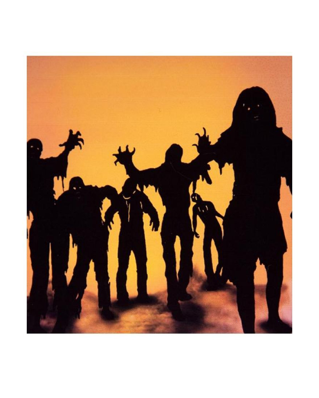 zombie wall stickers creepy horror wall decals horror. Black Bedroom Furniture Sets. Home Design Ideas