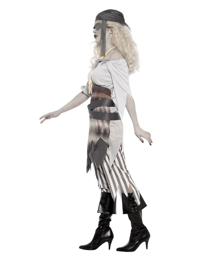 Zombie Pirat Piratenkostüm Geisterpirat Horror Zombiepirat Halloween Kostüm