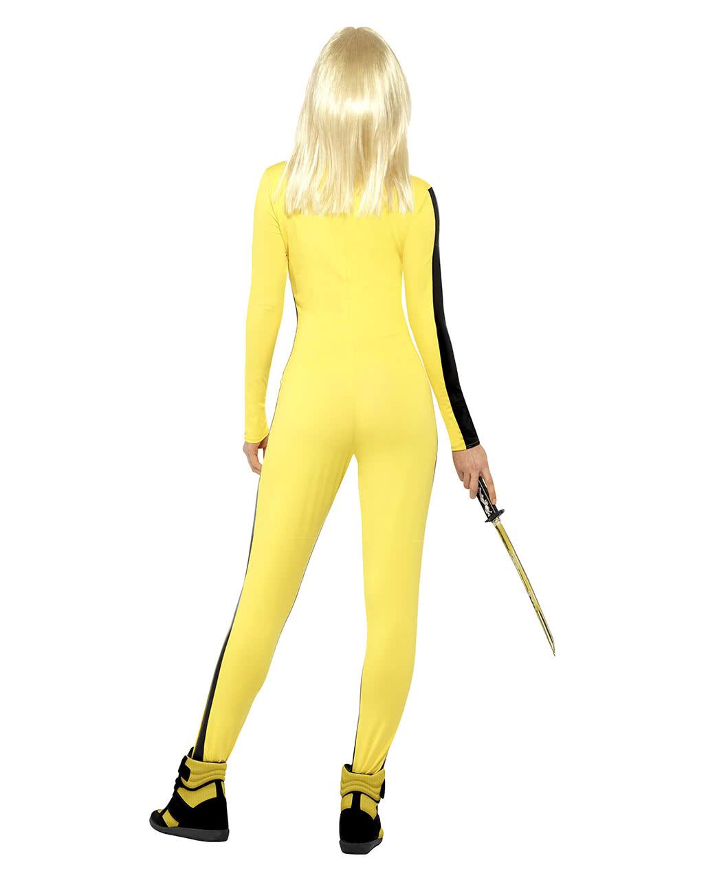 kill bill ladies costume licensed kill bill jumpsuit horror. Black Bedroom Furniture Sets. Home Design Ideas