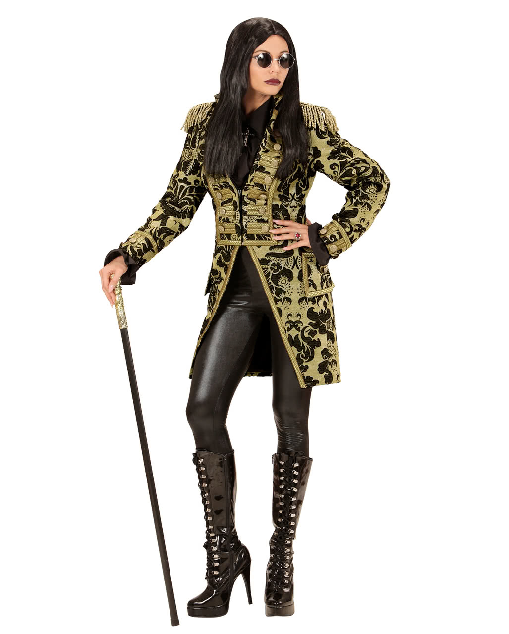 Venetian ladies dress suit gold-black to buy | horror-shop.com