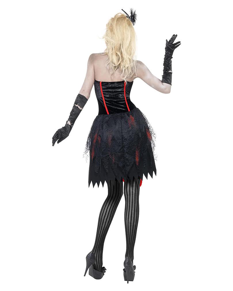 zombie burlesque costume sexy ladies zombie costume horror. Black Bedroom Furniture Sets. Home Design Ideas
