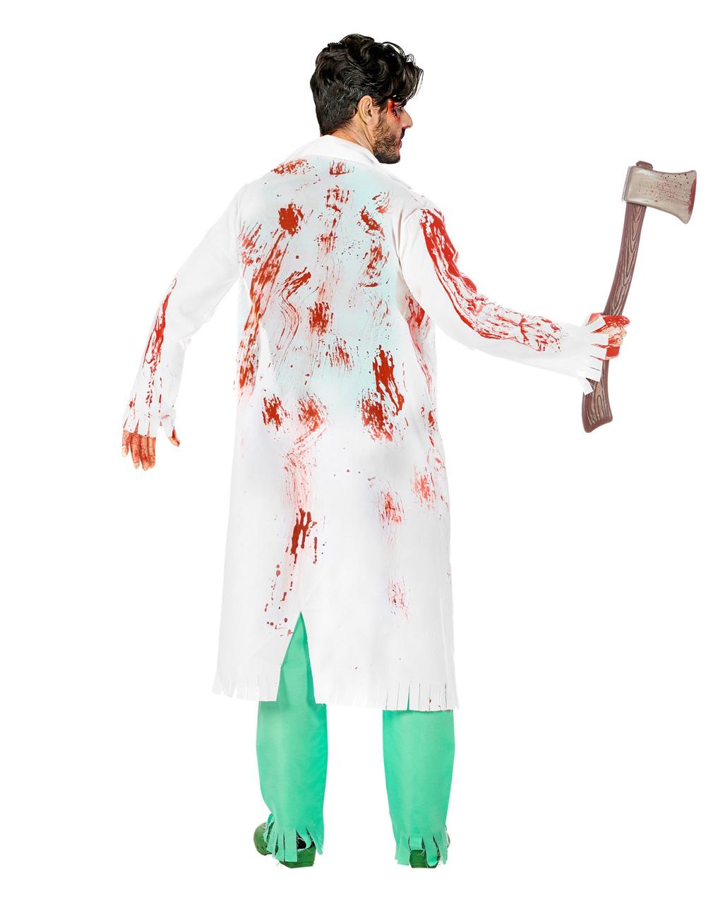 Zombie Surgeon Costume For Halloween Horror Shop Com