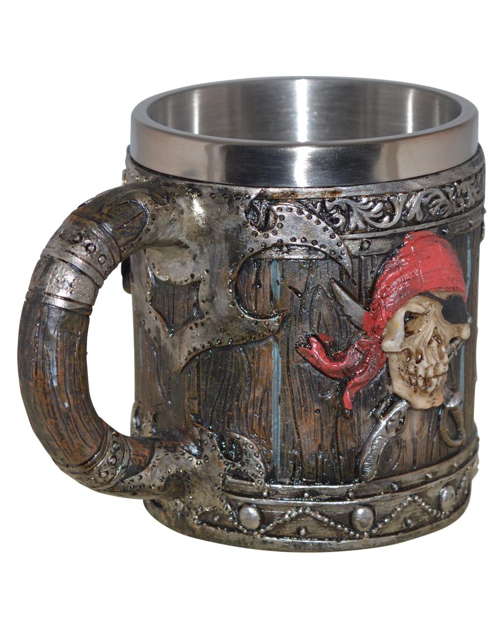 Crusader 95 Motif non-Stick METAL Mug